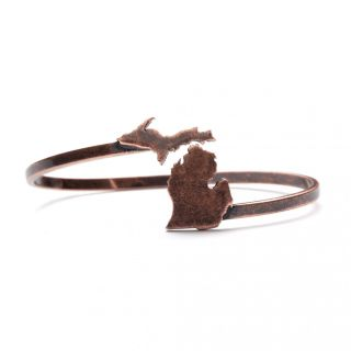 Bracelet ~ State of Michigan (Copper)