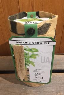 Organic Grow Kit - Basil