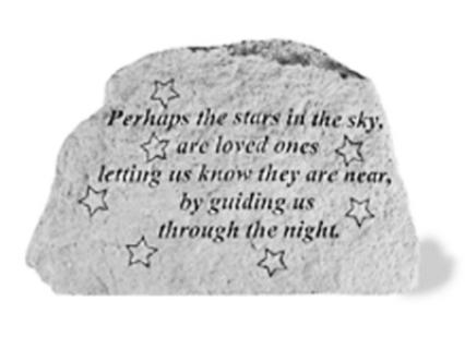 Perhaps the stars...