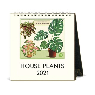 Desktop Calendar - House Plants 2021