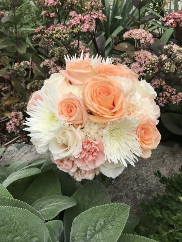 Peach Paradise Bridal Bouquet