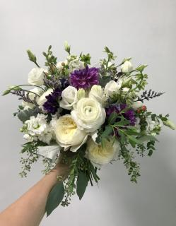 Liz\'s September Bridal Bouquet