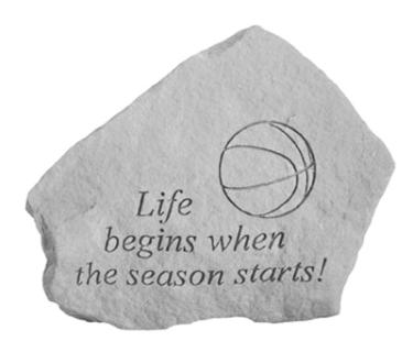 Life begins... (Basketball)