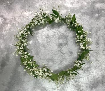 Baby\'s Breath Hair Crown
