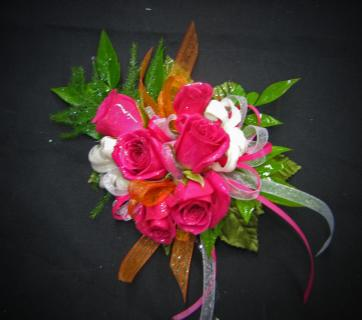 #14: Pretty in Pink Wrist Corsage