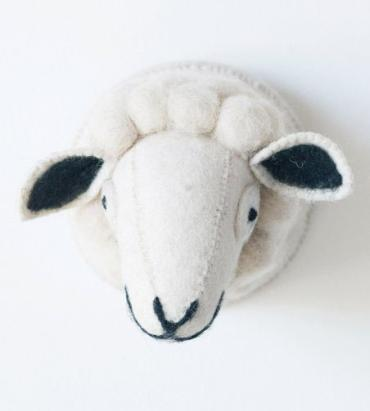 Sheep Head Wall Decor