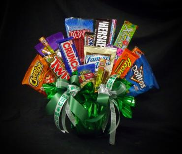 Collegiate Goodie Bouquet ~ MSU