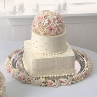 38. Blossoms Of Love Cake Top