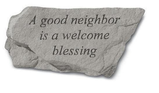Good Neighbor Stone