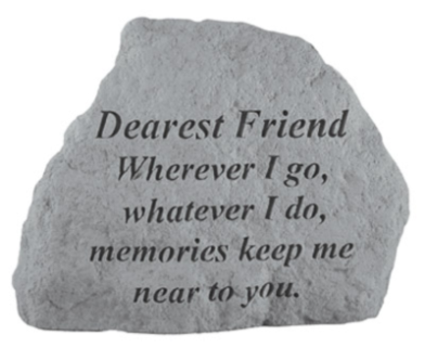 Dearest Friend, Wherever I go...