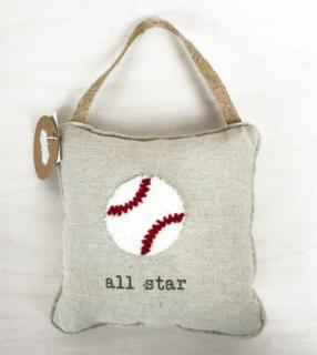 Door Knob Pillow ~ All-Star