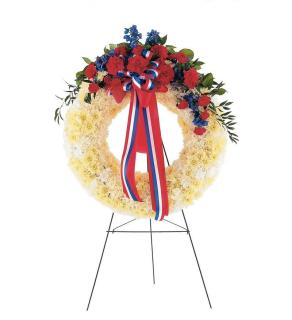 Commemorative Honor Standing Wreath