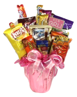 It\'s A Girl - Candy Bouquet