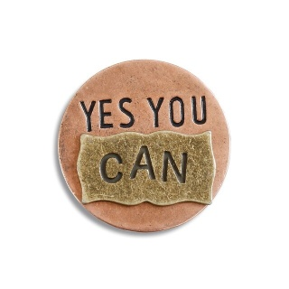 """Yes You Can\"" Pocket Token"