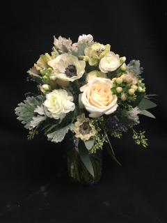 Soft Winter\'s Mist Bridal Bouquet