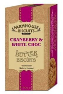 Farmhouse Biscuits ~ Cranberry & White Choc