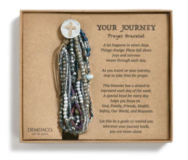 Prayer Bracelet - Gray