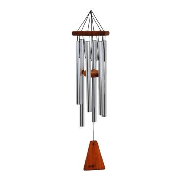 "Wind Chime Arias 29"" Silver"