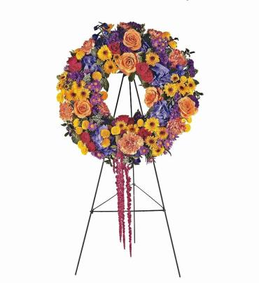 Summer Observance Standing Wreath