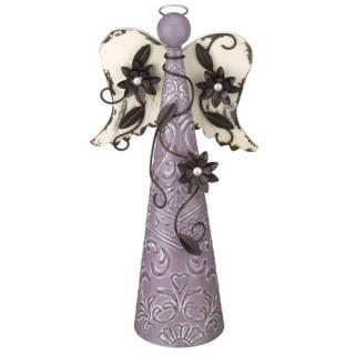 Floral Angel Decor - Orchid 16""