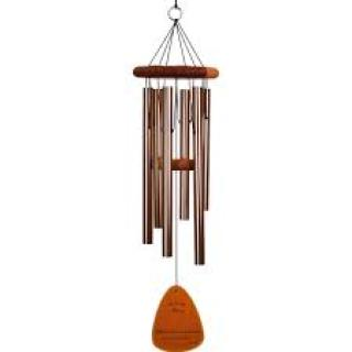 "The Lord Bless You.. Wind Chime 30"" Bronze"