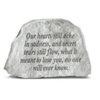 Our Hearts Still Ache...