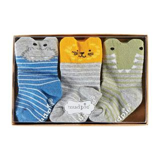 Baby Socks Gift Set: Go Wild Animal Safari