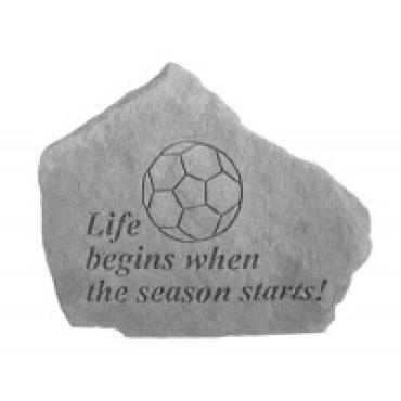 Life begins when the season (soccer)