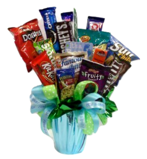 It\'s A Boy - Candy Bouquet