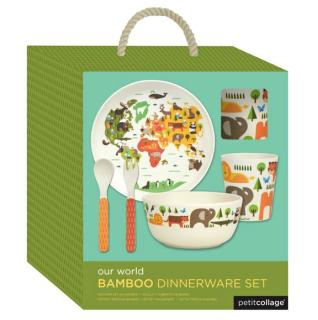 Bamboo Dinnerware Set