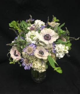 Periwinkle Love Bridal Bouquet