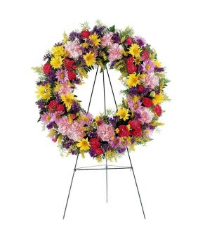 Treasured Standing Wreath
