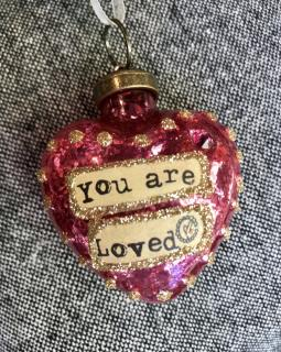 You are loved! Ornament