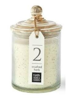 Gray Oak Soy Candle ~ Crushed Herb
