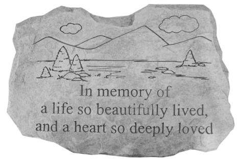In Memory of a Life so Beautifully Lived...
