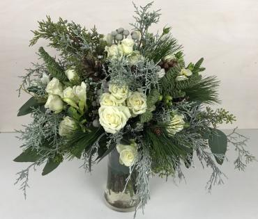 Winter Wonderful Bridal Bouquet (2nd view)