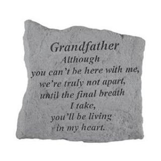 Grandfather, Although you can\'t be here...