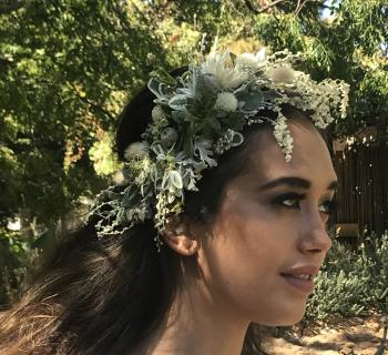 Custom Bridal Hairpiece