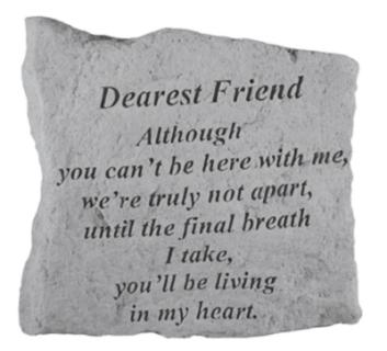 Dearest Friend...