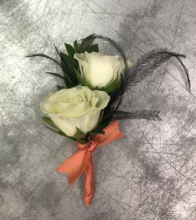 Featherluxe Boutonniere