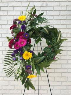 Profoundly Loved Standing Wreath