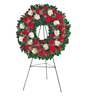 Honored Glory Standing Wreath