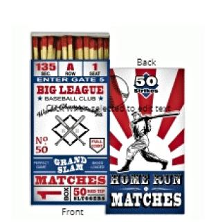 Matches ~ Vintage Baseball