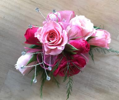Rosey Pink Corsage