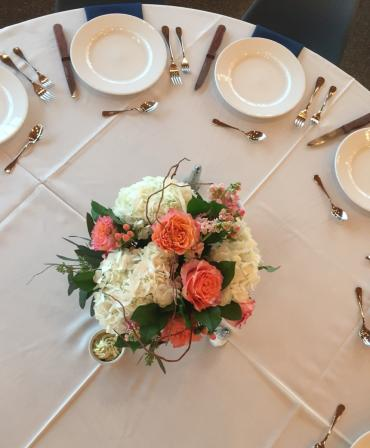 Peachy Keen Centerpiece