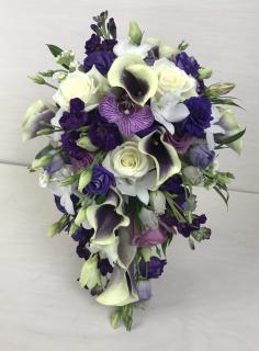 Pretty in Purple Bridal Bouquet