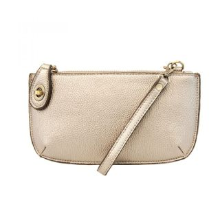 Wristlet Clutch ~ Metallic Pearl