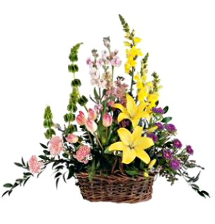 Springtime Remembrance Basket