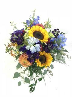 Sunshine on a cloudy day Bridal Bouquet