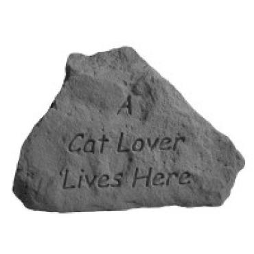 A Cat Lover Lives Here